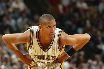 "Nike Reportedly ReReleasing Reggie Miller's ""Air Money"" Sneakers"