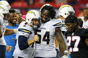 Melvin Ingram Listens To His Own Rap Records To Get Hyped Before Games