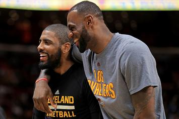 LeBron James Reportedly Met With Kyrie Irving This Past Weekend