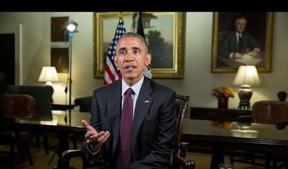 President Obama Asks Americans To Unite For Thanksgiving