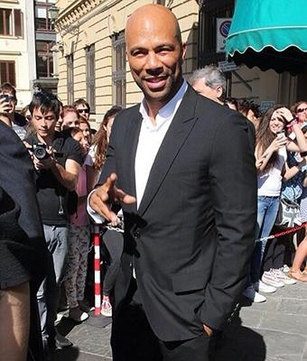 Common exiting the ceremony