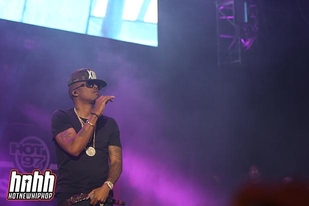 New York's own Nas was a highlight of the night