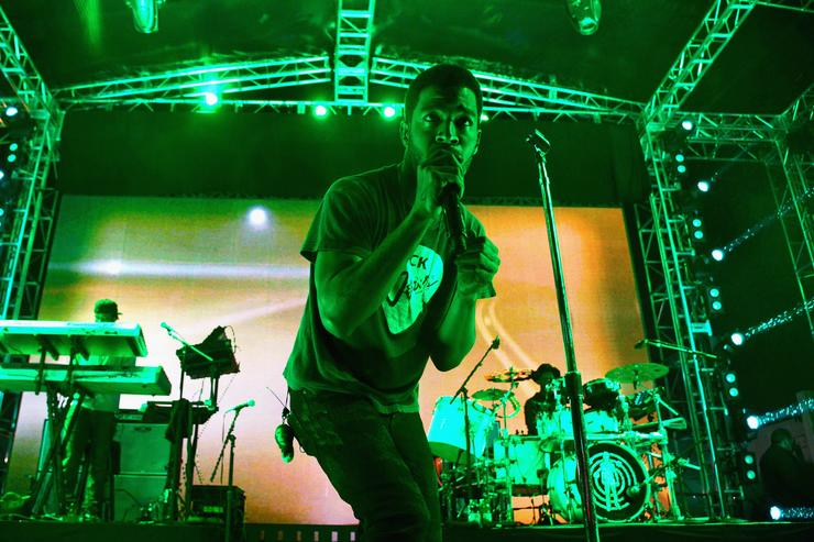 Kid Cudi performs at Coach Backstage Rodeo Drive