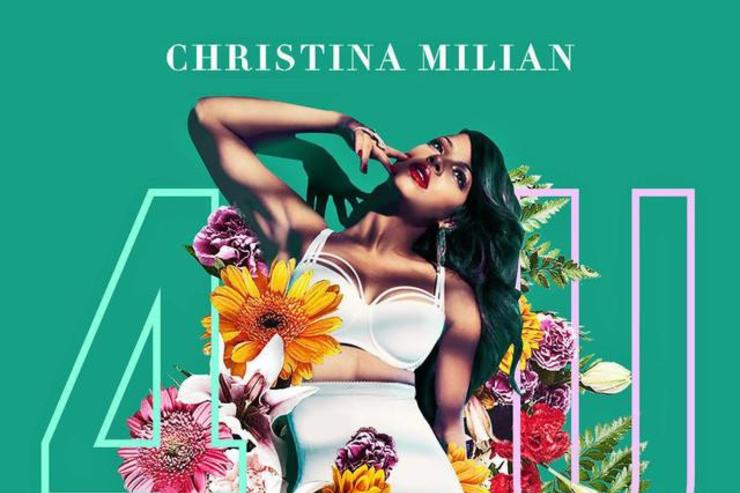 "christina milian ""4u"" album cover"