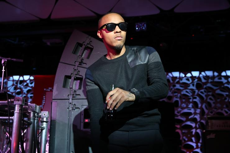 Bow wow at the 2015 American Music Awards Pre-Party
