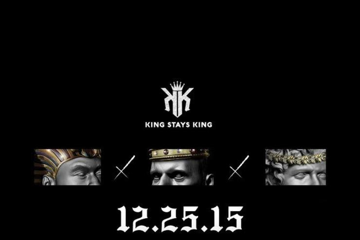 """""""KING STAYS KING"""" album cover"""