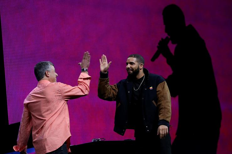 Drake at Apple Music Conference