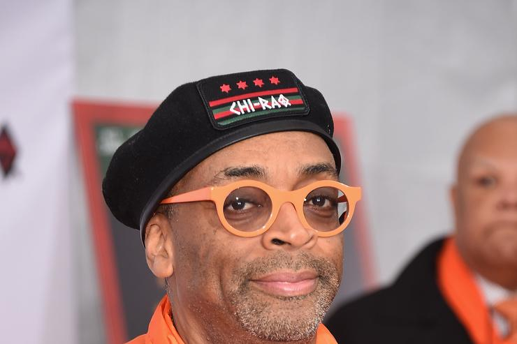 Spike Lee at the Gary Gershoff
