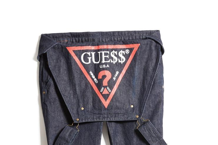 A$AP Rocky x Guess capsule collection.