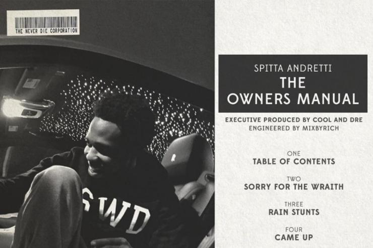 The Owners Manuel tracklist (back cover art)