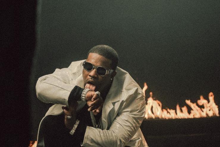 "ASAP Ferg on set at ""New Level"" video"