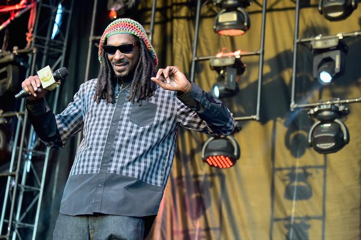 Rapper Snoop Dogg performs onstage during day 4 of the Firefly Music Festival on June 21, 2015 in Dover, Delaware
