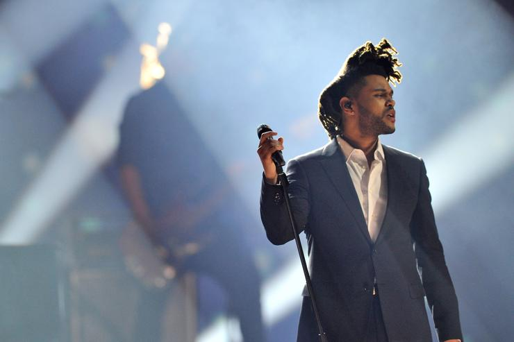 The Weeknd At The Junos