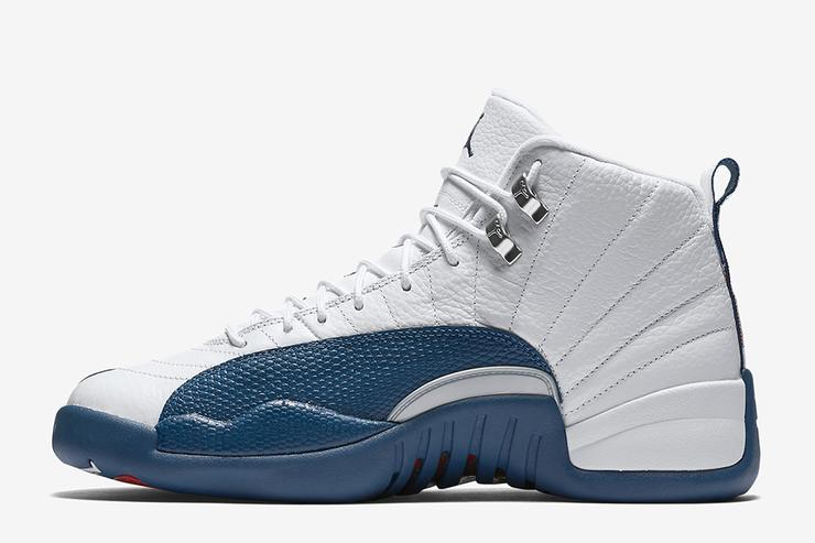 French Blue Air Jordan 12.