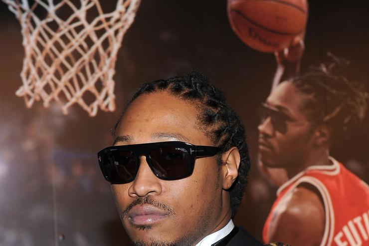 Future at a GQ event