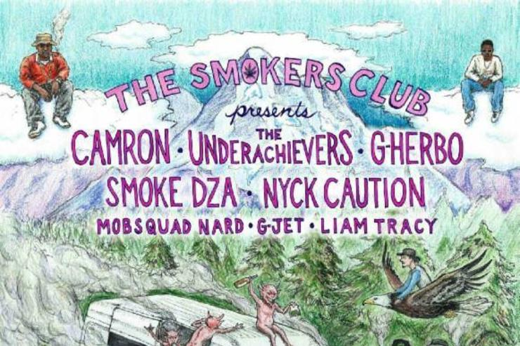 Cam'Ron Is Going On Tour With G Herbo, Smoke DZA, The Underachievers, & Nyck Caution The Smokers Club Tour