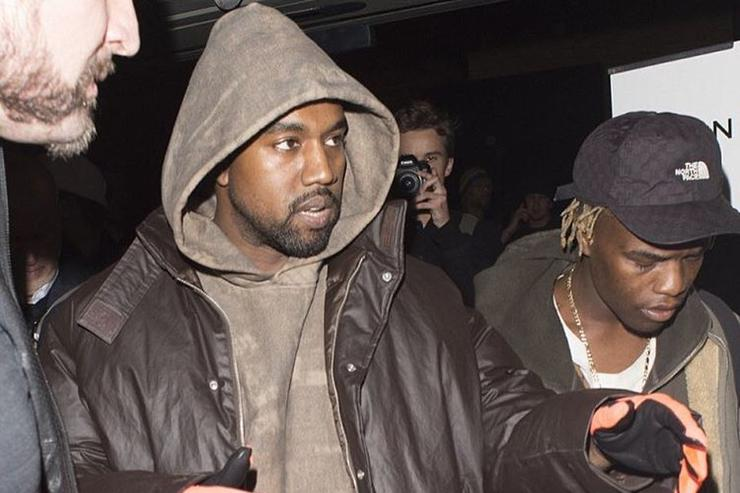 Ian Connor and Kanye West.