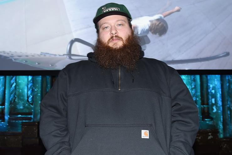 Rapper Action Bronson attends the VICELAND launch party at The Angel Orensanz Foundation on February 25, 2016 in New York City. (Photo by Nicholas Hunt/Getty Images)