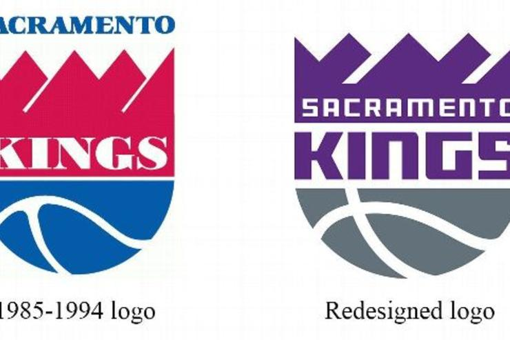 The old Kings logo vs the new Kings logo.