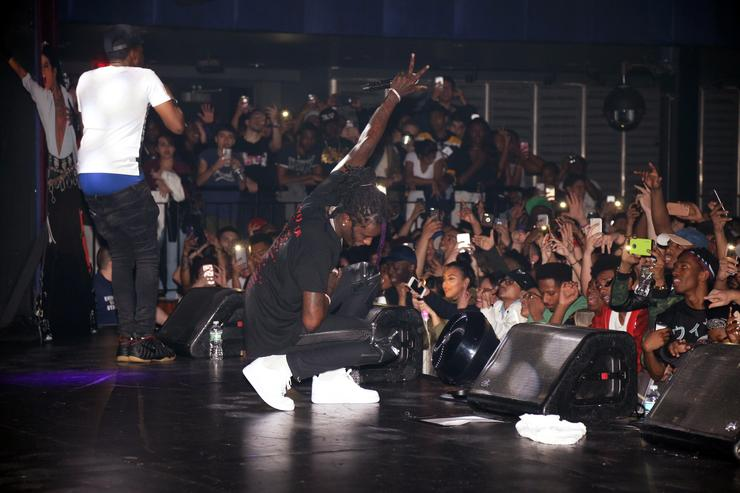 Young Thug performs at PlayStation Theater on May 2, 2016 in New York City.