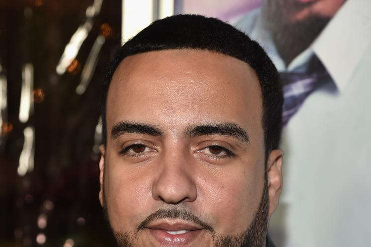 """French Montana at the premiere of """"The Perfect Match"""""""