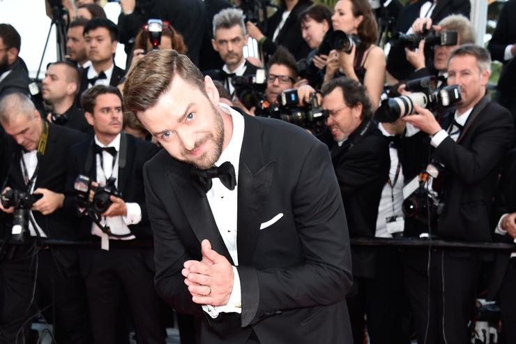Justin Timberlake at Cannes Festival 2016