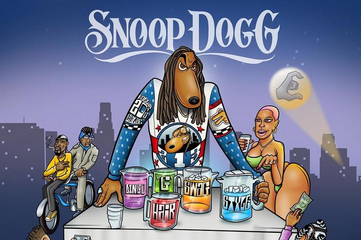 "Snoop Dogg ""Cool Aid"" cover artwork."