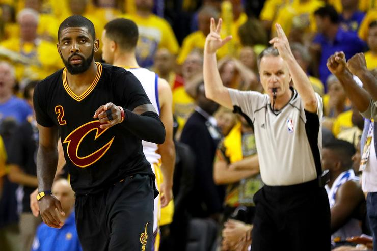 Kyrie Irving at NBA Finals 2016