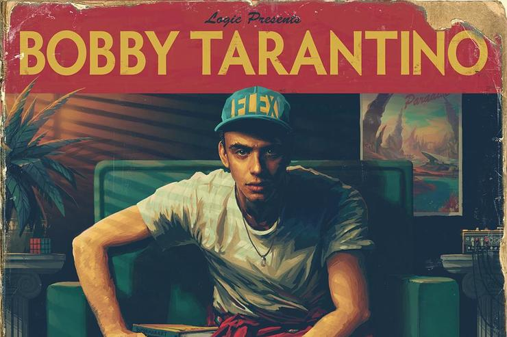 "album cover Logic's ""Bobby Tarantino"""