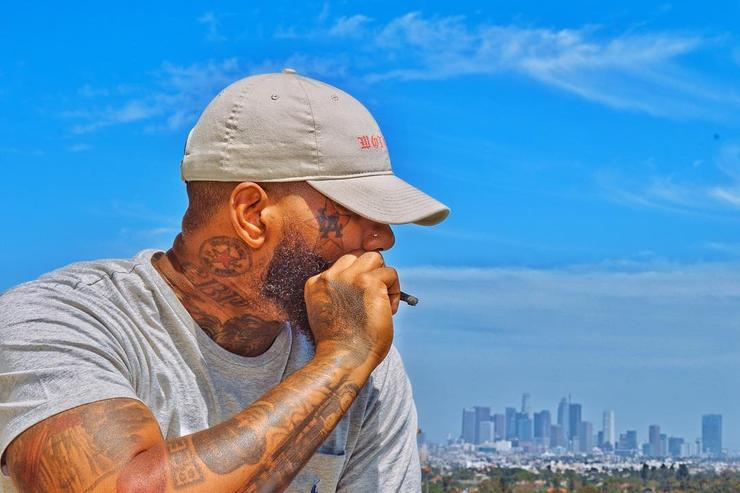 The Game smoking