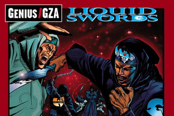 GZA Liquid Swords album cover