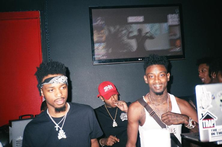 21 Savage and Metro Boomin