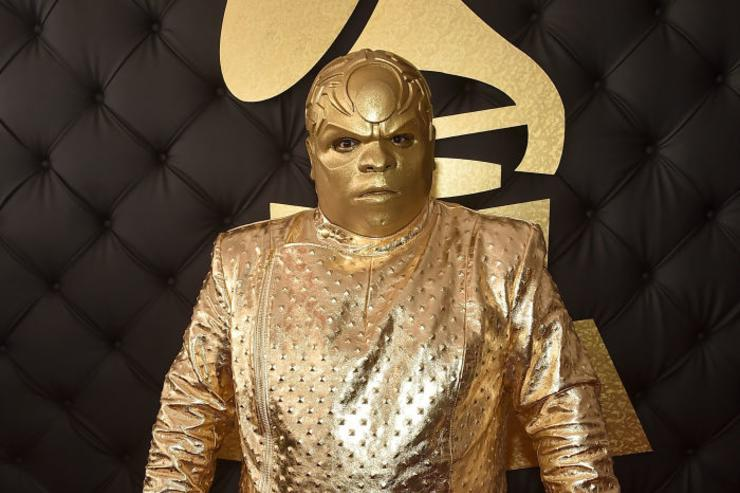 Singer Gnarly Davidson (aka CeeLo Green) attends The 59th GRAMMY Awards at STAPLES Center on February 12, 2017 in Los Angeles, California.