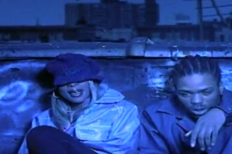 Mary J Blige and Method Man