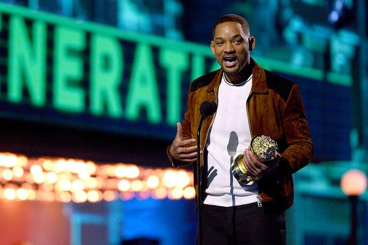 Actor Will Smith accepts the MTV Generation Award onstage during the 2016 MTV Movie Awards at Warner Bros. Studios on April 9, 2016 in Burbank, California. MTV Movie Awards airs April 10, 2016 at 8pm ET/PT.