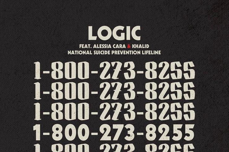 "Logic artwork for ""1-800-273-8255"""