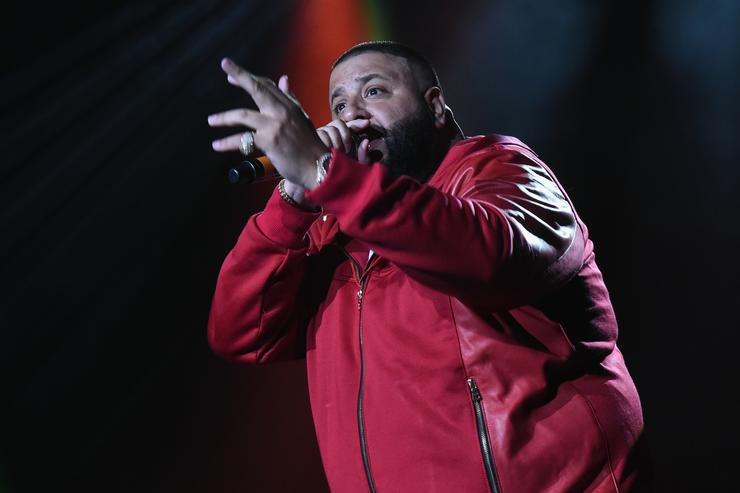 DJ Khaled V-103 Live Pop Up Concert