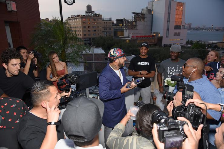 Samsung's Made for Summer Series Celebrates French Montana's New 'Jungle Rules' Album During Live at 837