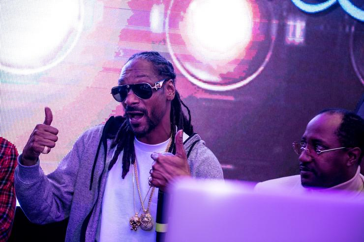 Snoop Dogg Bounce Sporting Club Presents The VIP Lounge At MAXIM's All Star Party