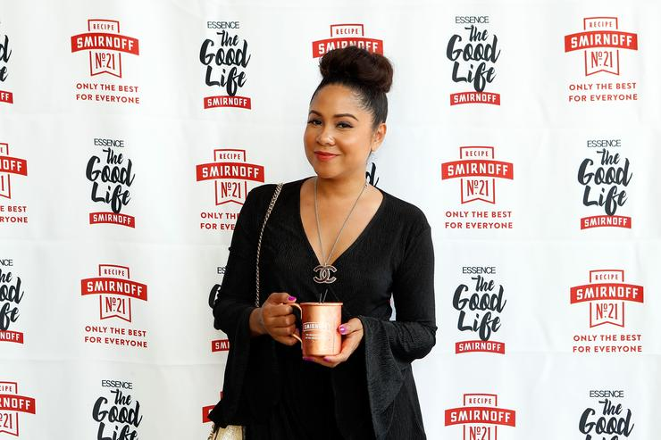 The SMIRNOFF Good Life Day Party Hosted by Lance Gross and Angela Yee at ESSENCE Festival 2017