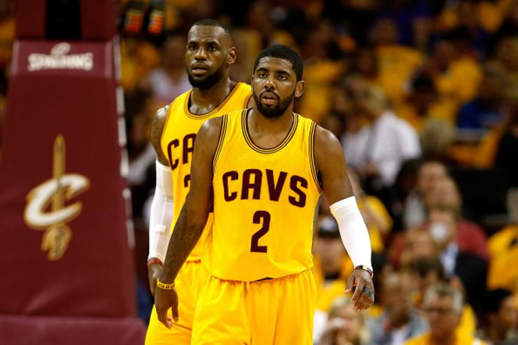 Kyrie Irving x LeBron James
