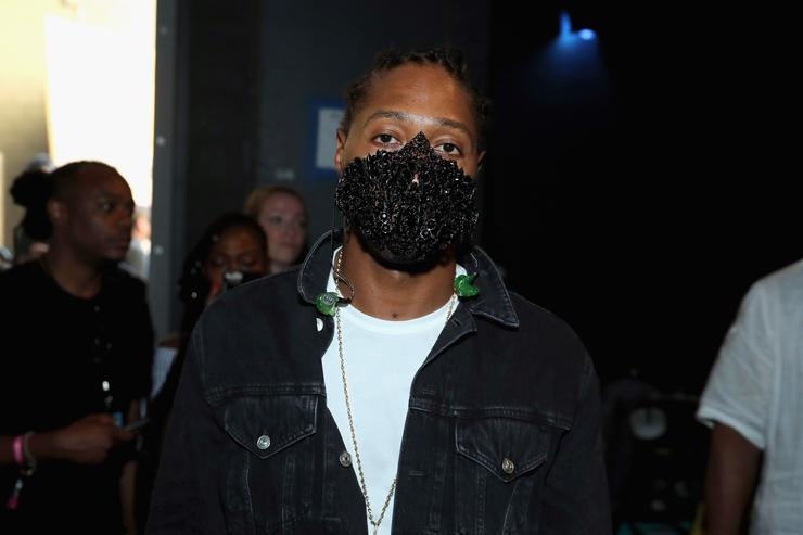 Future with his mask on