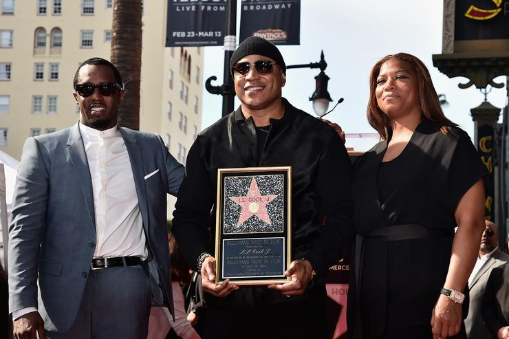 LL Cool J Honored With Star On The Hollywood Walk Of Fame