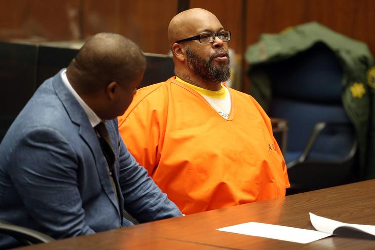 Suge Knight on trial in court